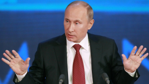 El president rus Vladímir Putin, en una imatge d'arxiu.