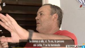 El Sevilla s'explica en la TV sobre els fets que van passar en la Platja Nudista