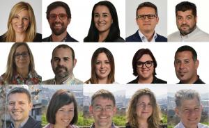 Els 25 nous regidors de l'Ajuntament de Rubí