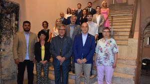 Els disset regidors de l'Ajuntament de Torredembarra entre 2019 i 2023.