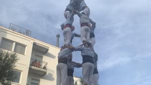 Els Nois de la Torre es van anotar el primer 4de7 de l'any per Sant Joan