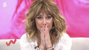 Emma García emocionada en 'Viva la vida'