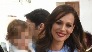 Eva González con su hijo, Cayetano Jr.