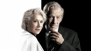 Helen Mirren e Ian McKellen en el póster de 'La Gran Mentira' (2019)