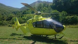 Helicóptero de Sacyl
