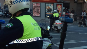 Imagen de archivo de la Policía Local de Málaga