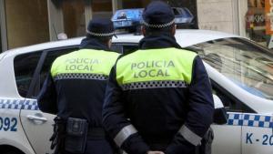 Imagen de archivo de la Policía Local de Vitoria