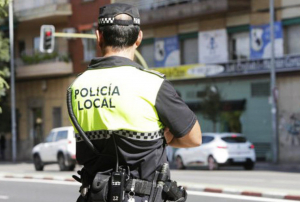 Imagen de archivo de un agente de la Policía Local