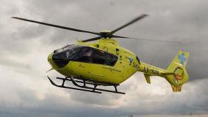 Imagen de archivo de un helicóptero Sacyl