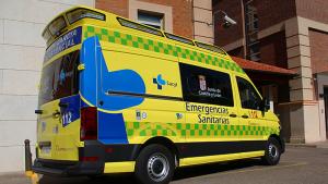 Imagen de archivo de una ambulancia de Emergencias Sanitarias-Sacyl de Castilla y León