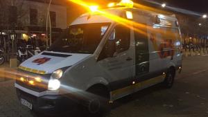Imagen de archivo de una ambulancia del EPES.