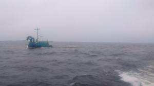 Imagen de la embarcación vikinga rusa