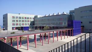 Imagen del hospital al que ha sido trasladado el herido grave