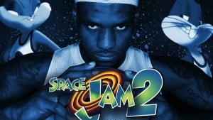 Imagen promocional de 'Space Jam 2', con Lebron James junto a Bugs Bunny y Lola Bunny.