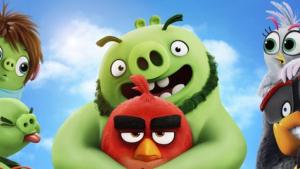 Imagen promocional del póster de 'Angry Birds 2'