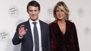 Imatge arxiu Manuel Valls i Susana Gallardo