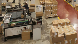 Imatge d'arxiu de l'interior d'una fàbrica
