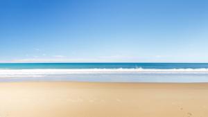 Imatge d'arxiu d'una platja