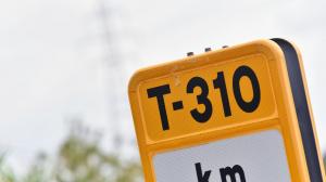 Imatge de la carretera T-310.