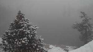 Imatge de la neu al Pallars Sobirà