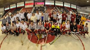 Imatge dels equips del 'Partit per la Igualtat' del Reus Deportiu