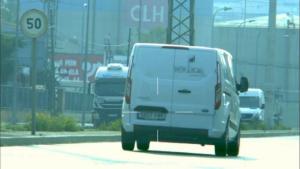 Instantània del radar amb una furgoneta enxampada a 110 quilòmetres per hora al polígon Francolí de Tarragona