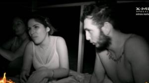 Isa Pantoja y Omar Montes en 'Supervivientes'