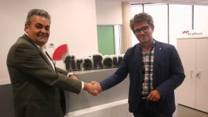 Jordi Just i Marc Arza s'han trobat a les instal·lacions de firaReus