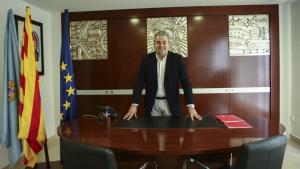 Jordi Just, president de la Cambra de Comerç de Reus, al seu despatx