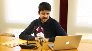 Jordi Molinera, el líder de l'EINA a Altafulla.