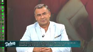 Jorge Javier durante el programa 'Sábado Deluxe'