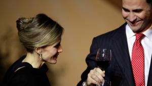 La família reial tindria un celler amb més de 10.000 referències diferents de vins