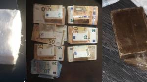 La Guàrdia Civil ha incautat diversos tipus de drogues i diners en metàl·lic