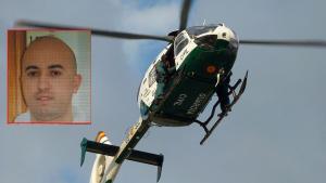 La Guardia Civil trata de localizar al fugado por todos los medios