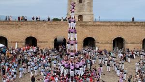 La Jove de Tarragona ha aconseguit completar el primer 3de9f a Montjuïc