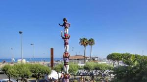 La Jove de Tarragona ha estrenat el pilar de 6 a Cambrils