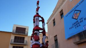 La Joves de Valls ha estrenat el 3de8 amb el pilar a Vila-seca