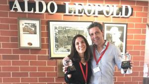 La pareja de docentes ha recibido un galardón muy importante en Estados Unidos
