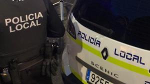 La Policía Local de Almería acudió al lugar de los hechos
