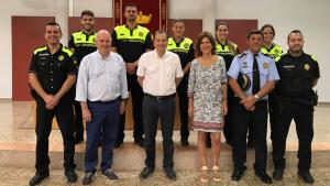 La Policia Local de Vandellòs i l'Hospitalet de l'Infant es reforça aquest estiu amb cinc agents més
