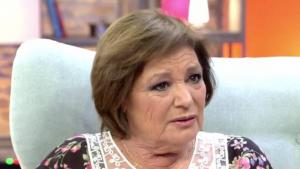 La presentadora Teresa Rabal en el programa 'Viva la vida' de Toñi Moreno