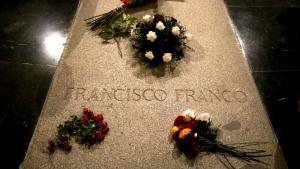 La tomba del dictador Francisco Franco al Valle de los Caídos