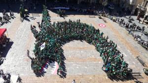 La Víbria ha estat l'element del seguici festiu escollit per l'edició d'enguany de l''Hola Sant Pere!'