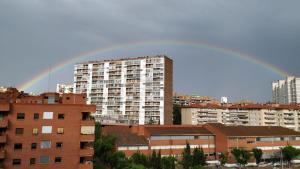 L'arc de Sant Martí s'ha pogut veure a la ciutat de Tarragona