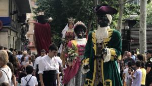 Les imatges del Tomb del Poble de la Festa Major de Sant Joan de Valls