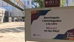 Les Proves d'Accés a la Universitat ja han començat al Campus Catalunya de Tarragona