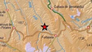 Localización exacta del epicentro del terremoto