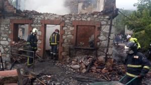 Los Bomberos de Asturias han acudido a extinguir las llamas