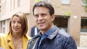 Manuel Valls i Eva Parero