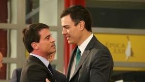 Manuel Valls i Pedro Sánchez